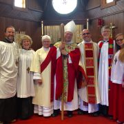 Bishop visit full group July 10 2016